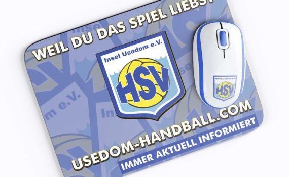 """Mousepad """"Usedom Handball"""""""