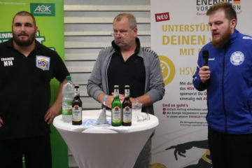 Pressekonferenz HSV Insel Usedom – Blau Weiß Berlin 40:25