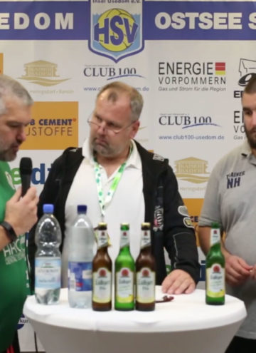 Pressekonferenz HSV Insel Usedom – VfV Spandau 27:22