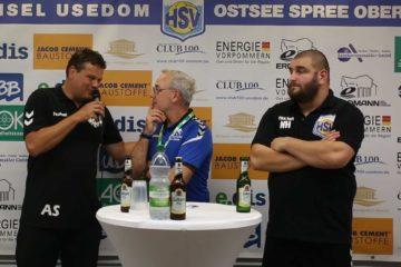 Pressekonferenz HSV Insel Usedom – BFC Preussen 29:21