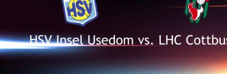 HSV Insel Usedom vs. LHC Cottbus OberligaOstseeSpree